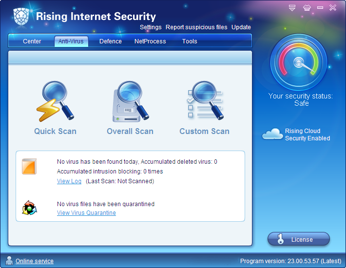 Rising Internet Security Personal
